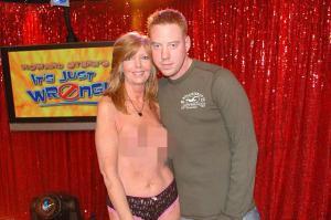Moeder en zoon bij Howard Stern